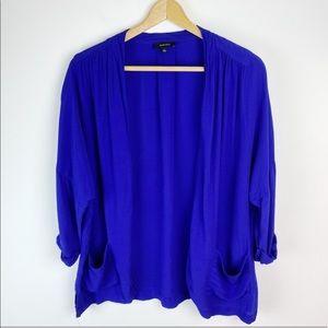 Aritzia Babaton Marcus Jacket Cardigan Blue Size L